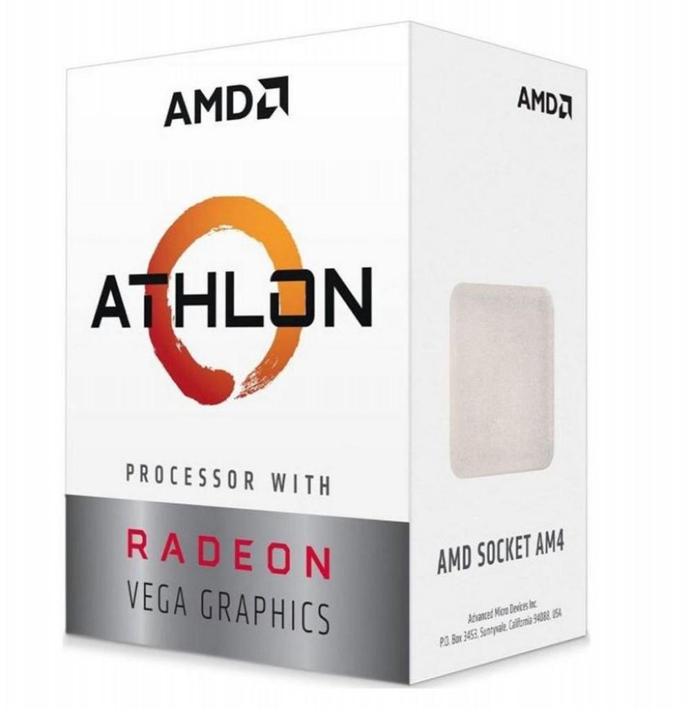 Processador AMD AM4 ATLHON 220GE VEGA 3.4GHZ 4MB