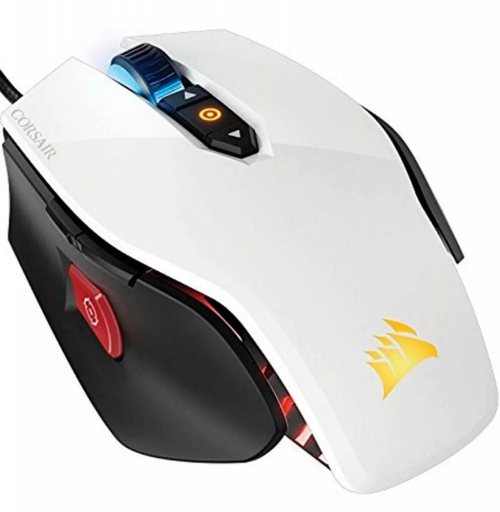 Mouse Corsair Gaming M65 Pro RGB CH-9300111-NA USB Branco