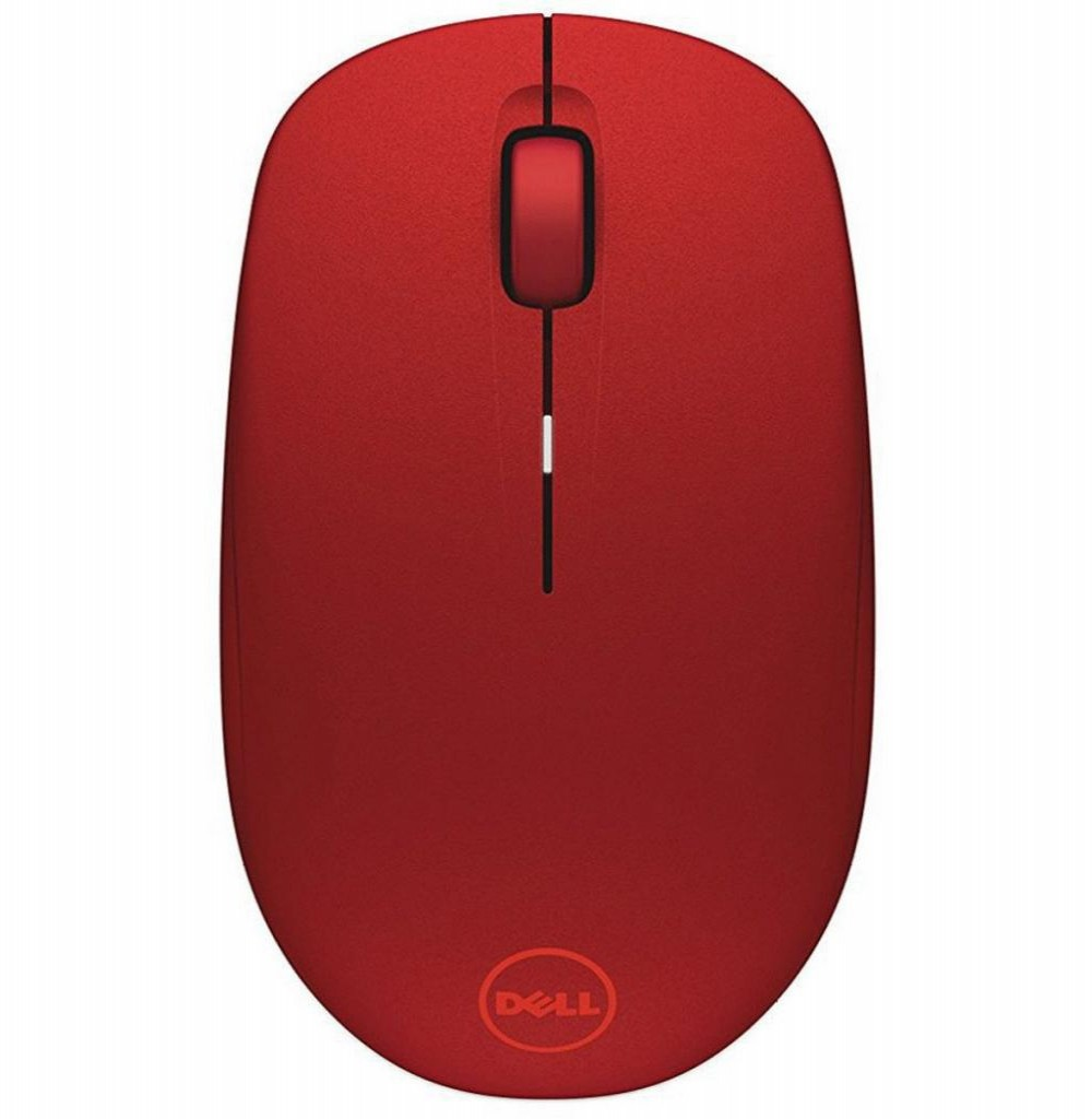 Mouse Dell WM126-RD Wireless Souris Sans Vermelho