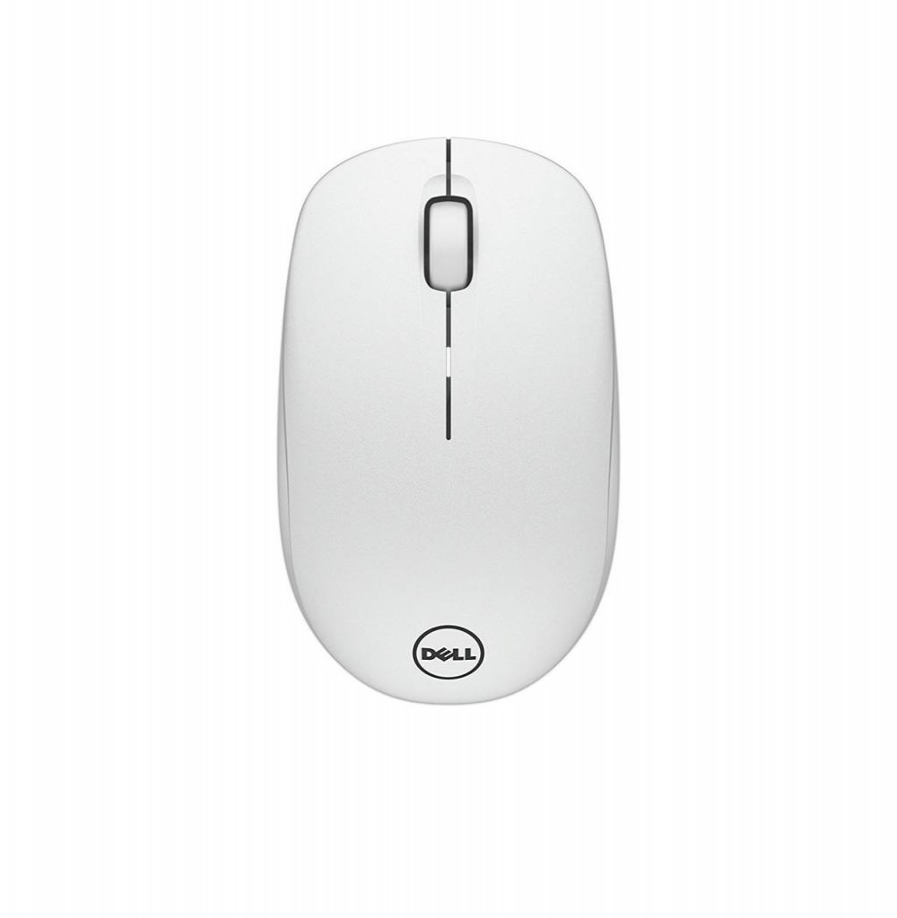 Mouse Dell WM126-Wh Wireless Souris Sans Branco