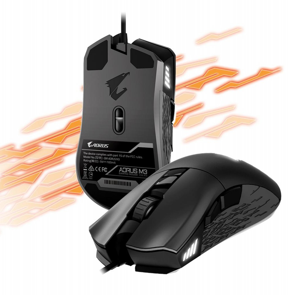 Mouse Optico Gigabyte Usb Gamer Aorus M3 Preto