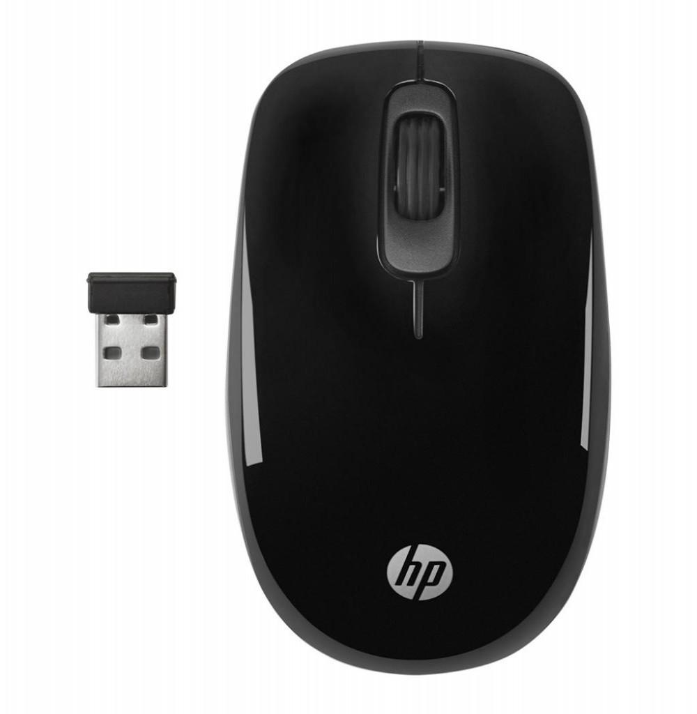 Mouse HP Sem Fio Usb 1200 Dpi Z3600 Preto/azul
