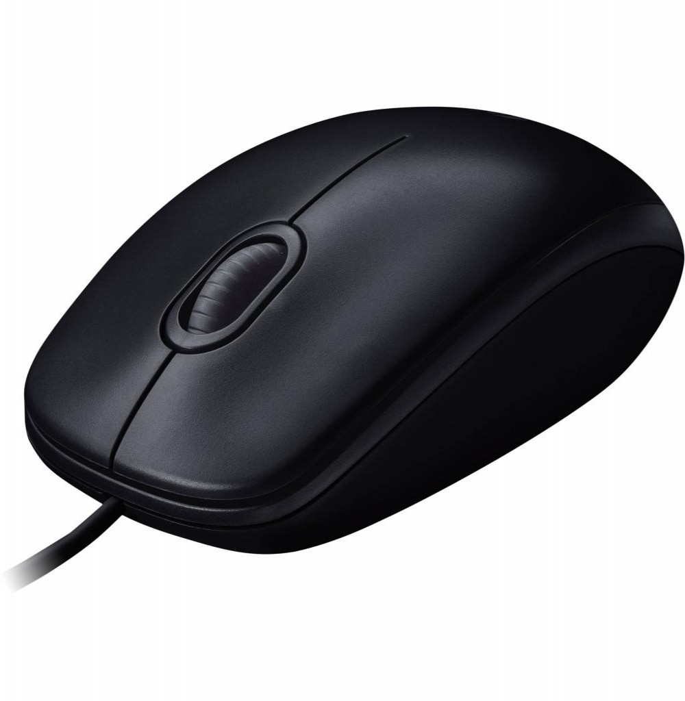 Mouse Optico Logitech M100 USB 1.000 Dpi - Cinza