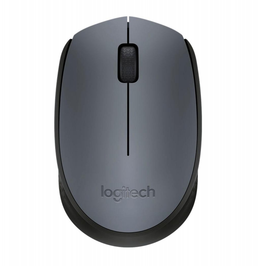 Mouse Logitech M170 Wireless 910-005334 2.4GHz Cinza