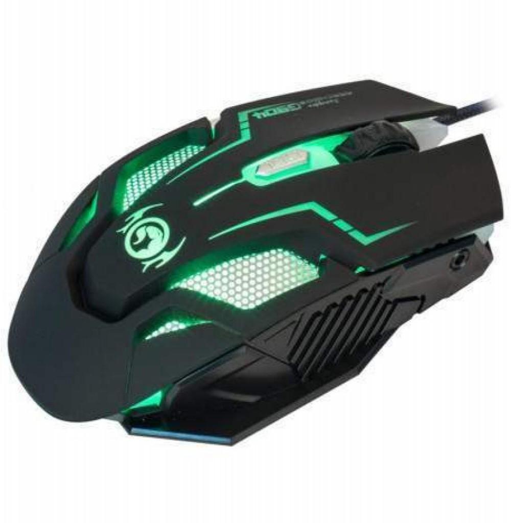Mouse Gaming Marvo Advance G904 USB com Fio Preto