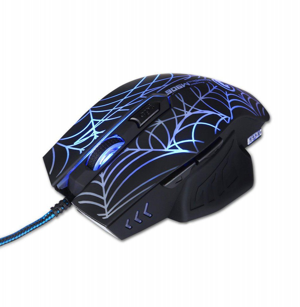 Mouse Marvo Gamer M306 Wired 6 Botões 2400 Dpi Led 7 Cores