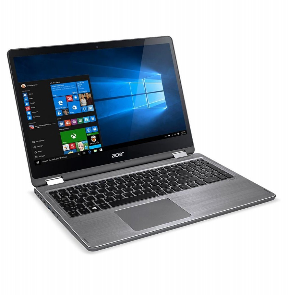 "Notebook Acer R5-571T-57Z0 i5-7200U-2.5GHZ/ 8GB/ 1TB/ 15.6""FHD/ Touch"