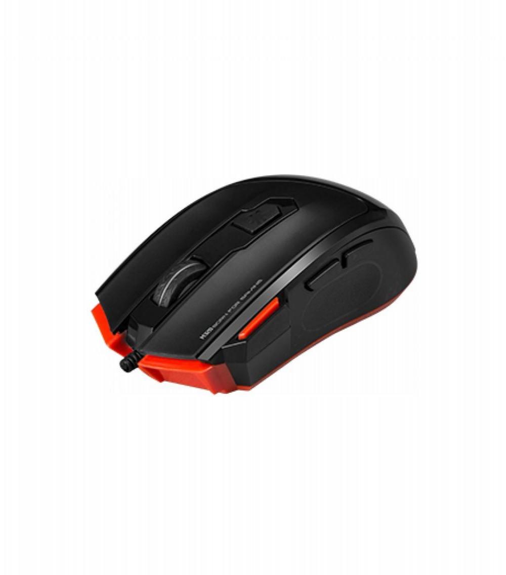 Mouse Gaming Marvo M320 Scorpion com fio USB Preto/Vermelho