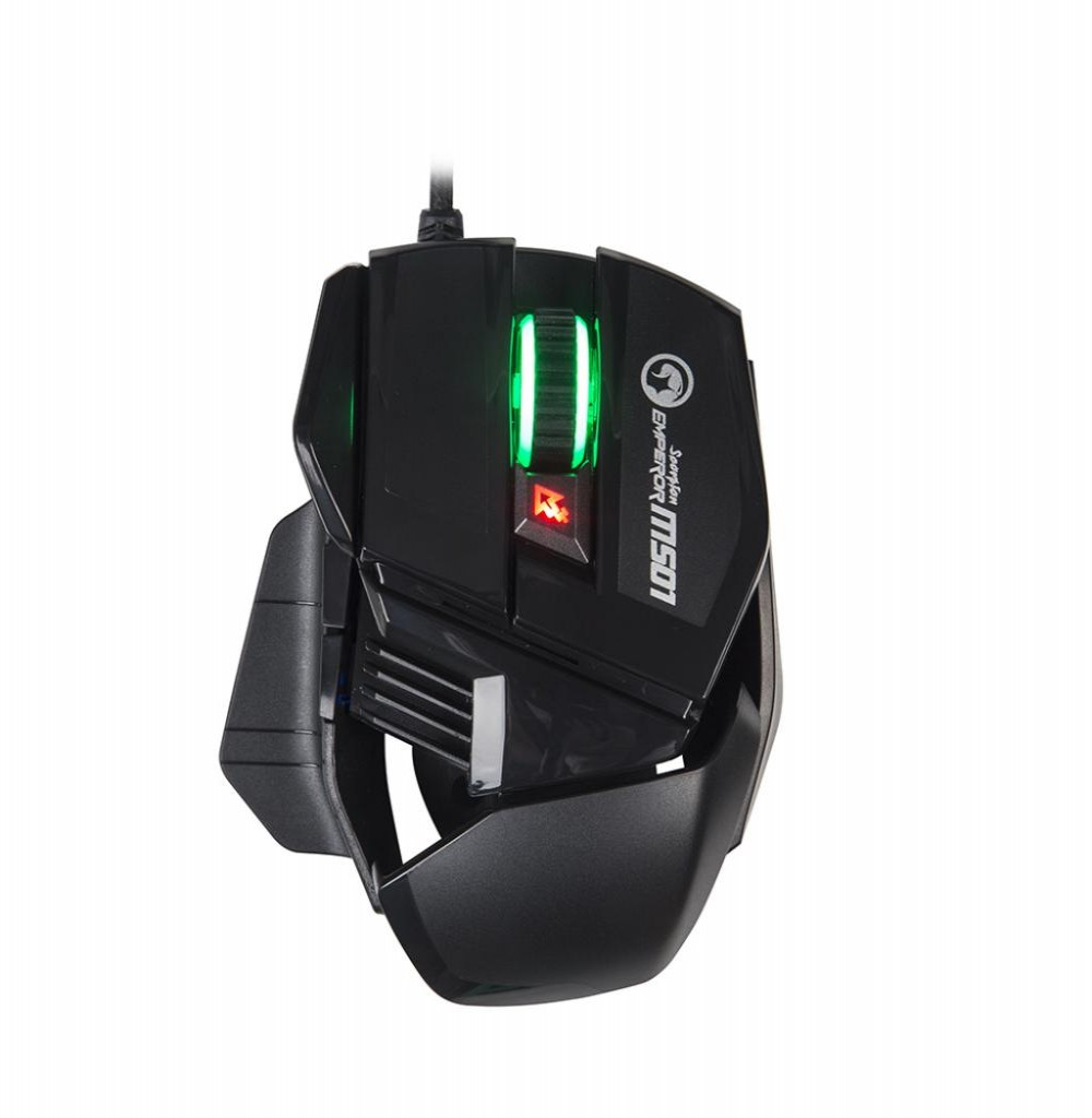 Mouse Gaming Marvo Scorpion M501 USB com Fio Preto