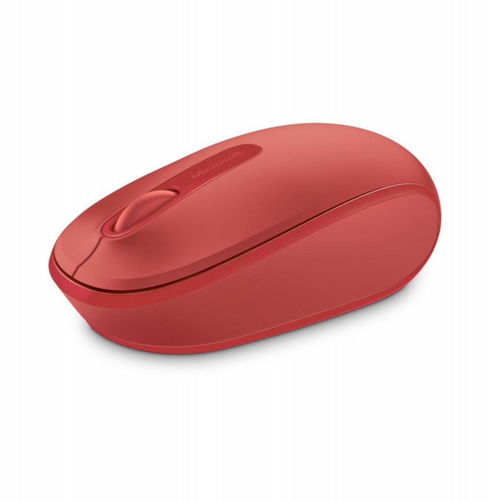 Mouse Wireless Microsoft Mobile Mouse 1850 - Vermelho
