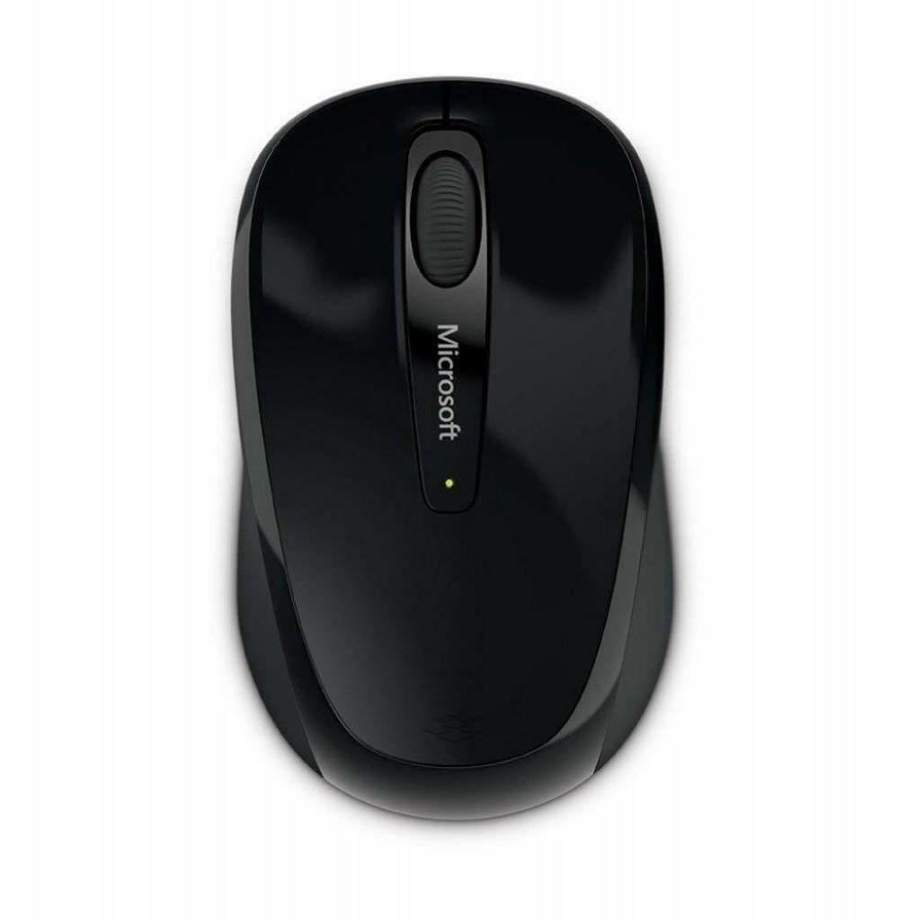 Mouse Microsoft Wireless 3500 GMF00382 - Preto