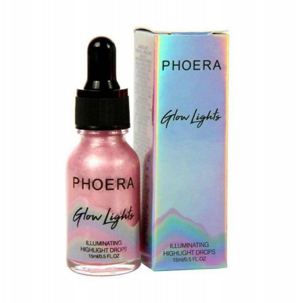 Iluminador Líquido Phoera Irie Rose