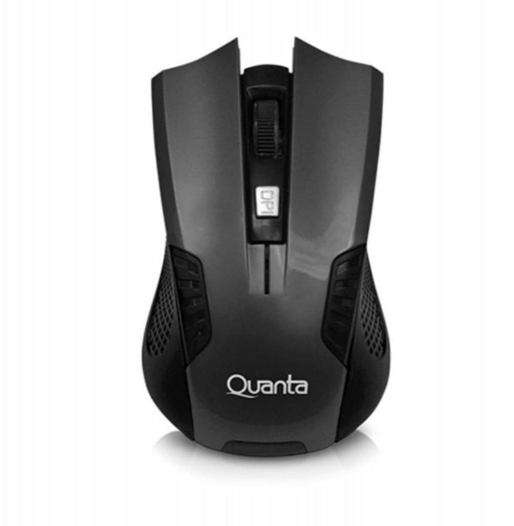 Mouse Gamer Sem Fio Quanta QTMSW1001 USB de até 1.200DPI - Vermelho/Preto