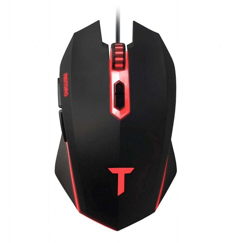 Mouse Gamer Riotoro Uruz Z5 RGB MR-600C USB 4000DPI