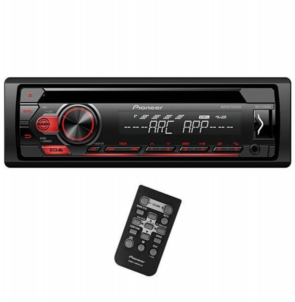 Som Para Carro Pioneer CD DEH S1150UB USB/IPOD/MI
