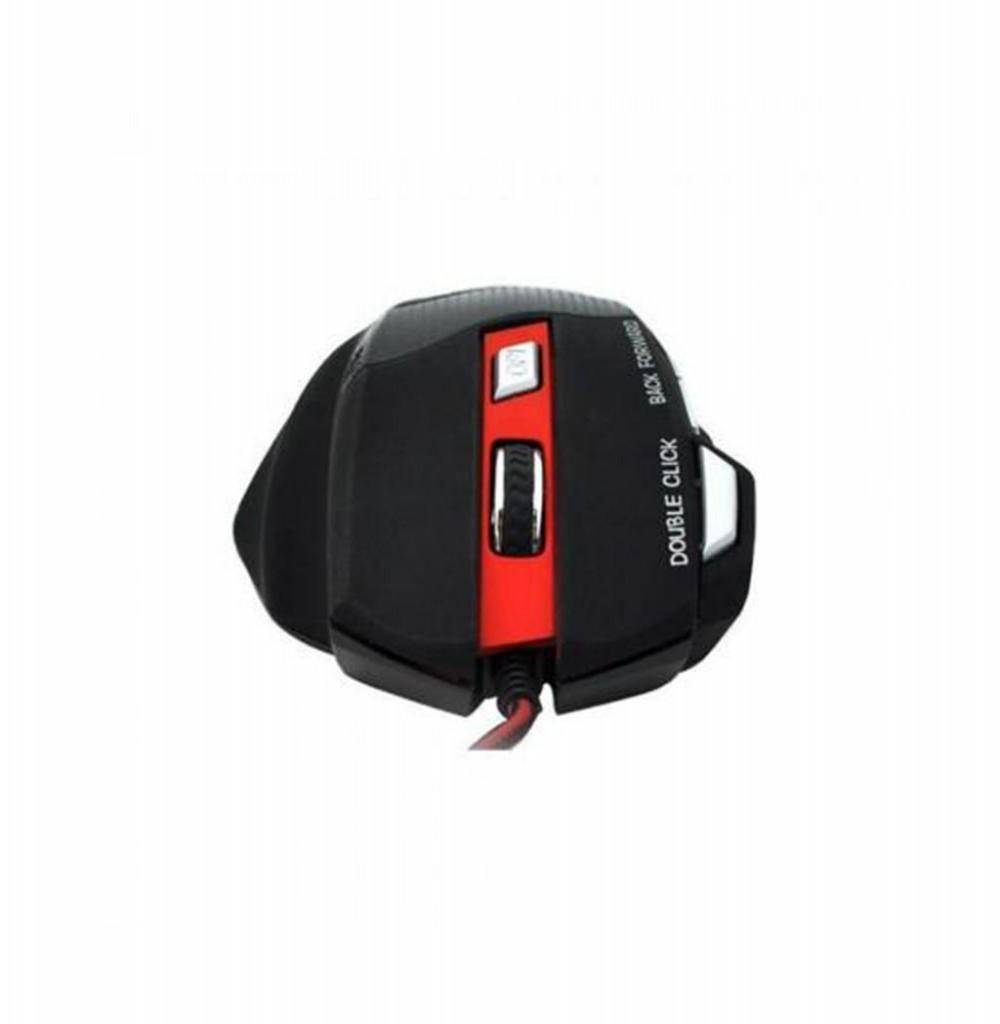 Mouse Satellie Gaming 7 Keys A-56 Preto-Vermelho