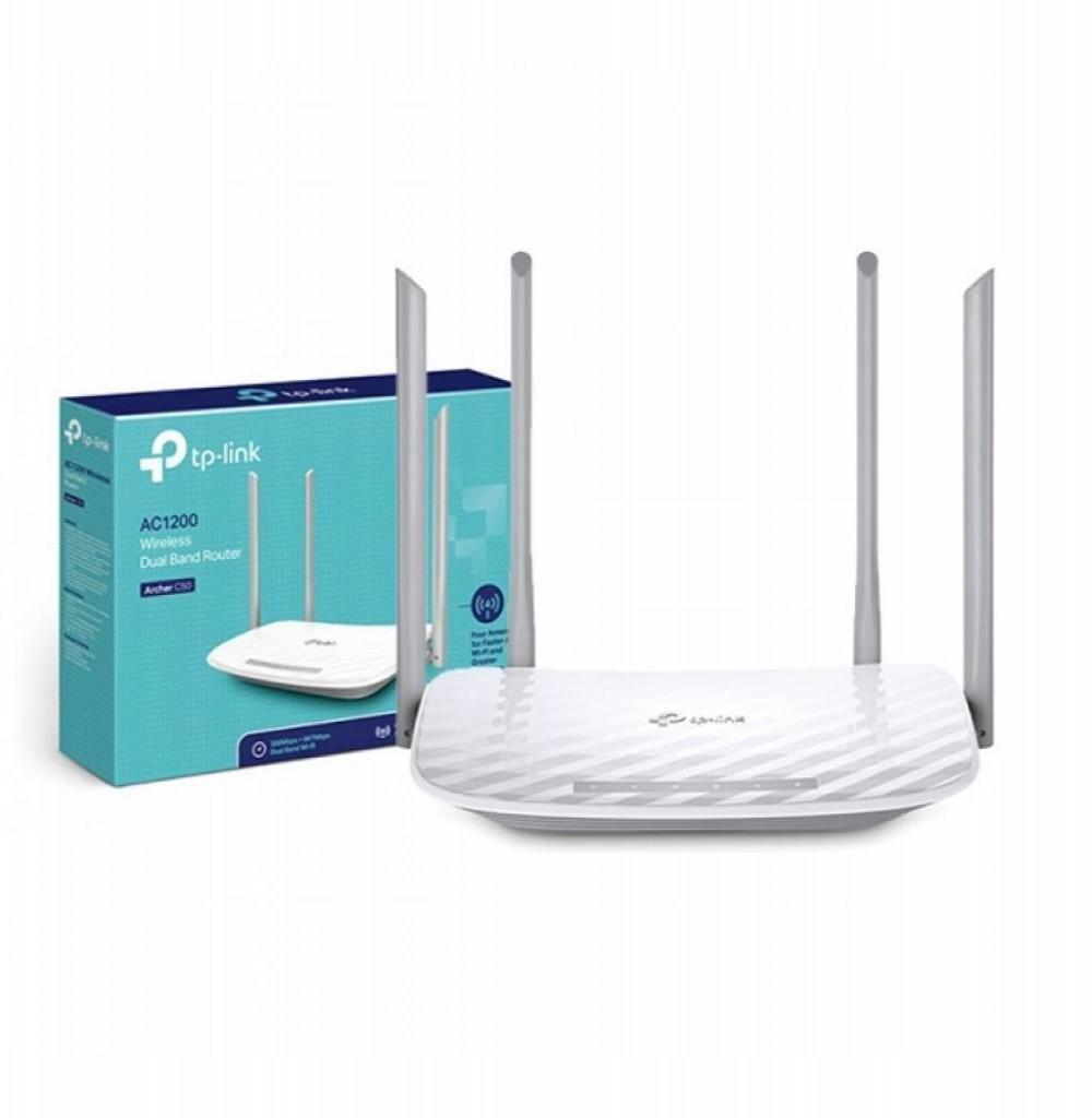Roteador Wifi Tp-Link Archer C50 AC1200 Dual 4 Antenas