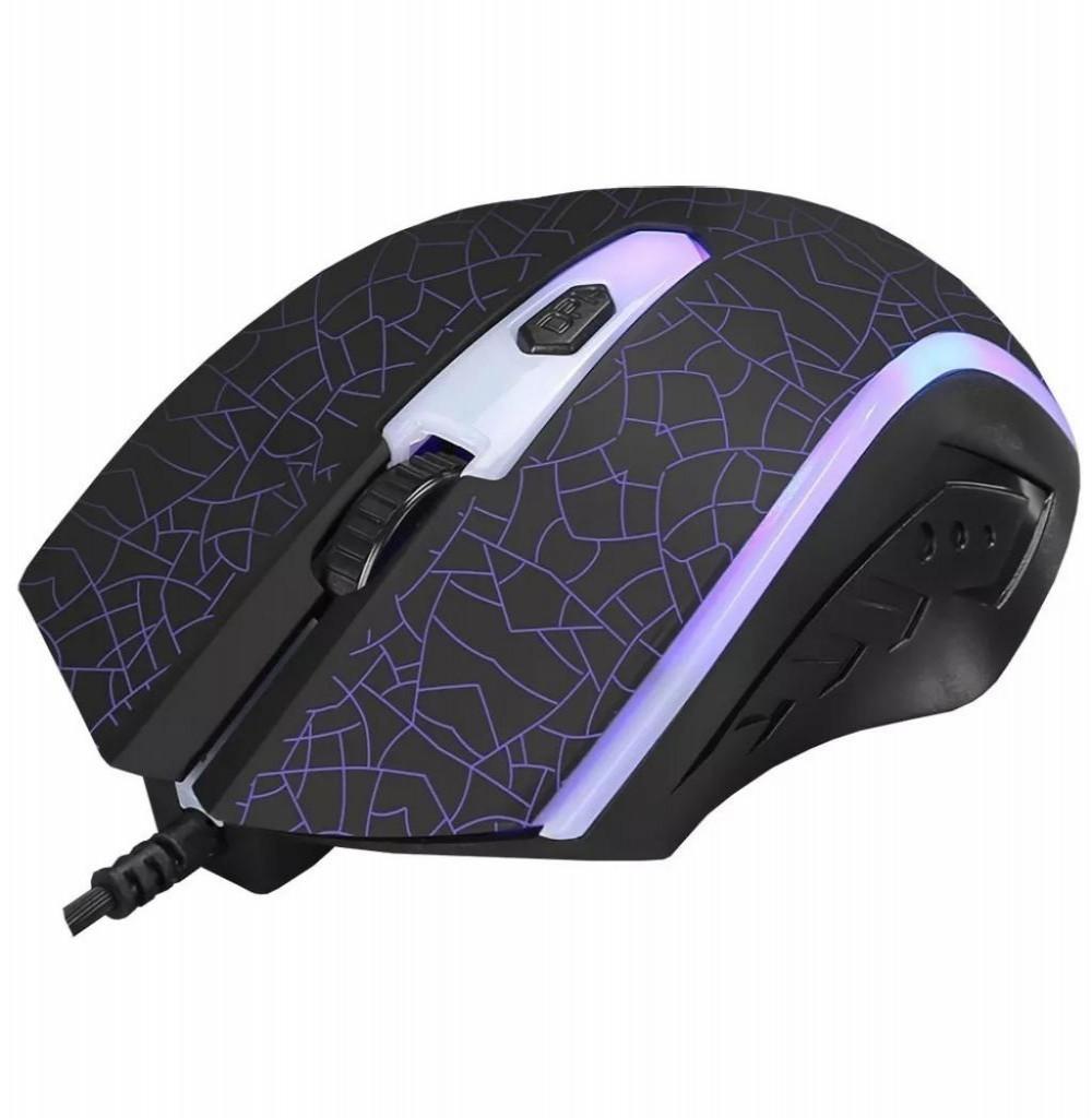 Mouse Gaming Xtrike Me GM-206 com fio 1200DPI USB Preto