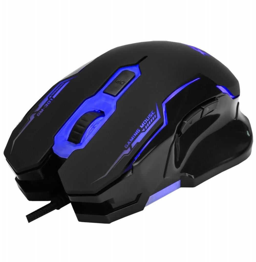 Mouse Gaming Xtrike Me GM-301 com fio 2400DPI USB Preto