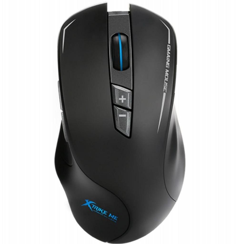 Mouse Gaming Xtrike Me GM-701G com Fio 4000DPI USB Preto