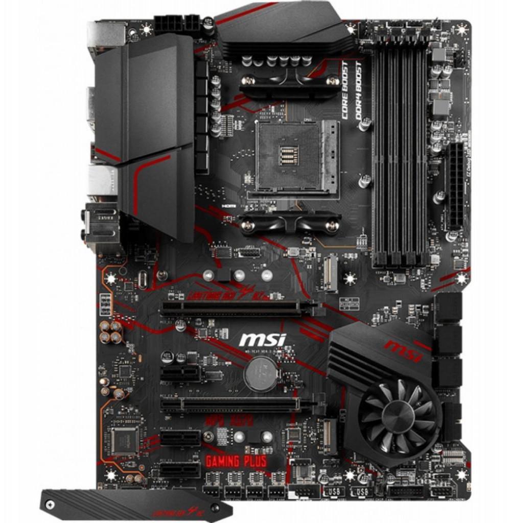 Placa-Mãe AMD (AM4) MSI X570 MPG Gaming Plus