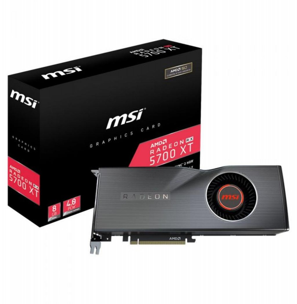 Placa de Vídeo 8GB EXP. RX-5700 XT MSI