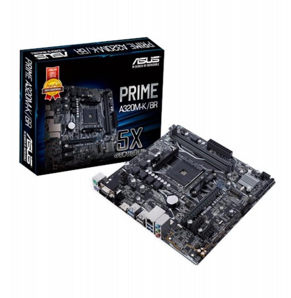 Placa Mãe AMD (AM4) Asus A320M-K Prime DDR4