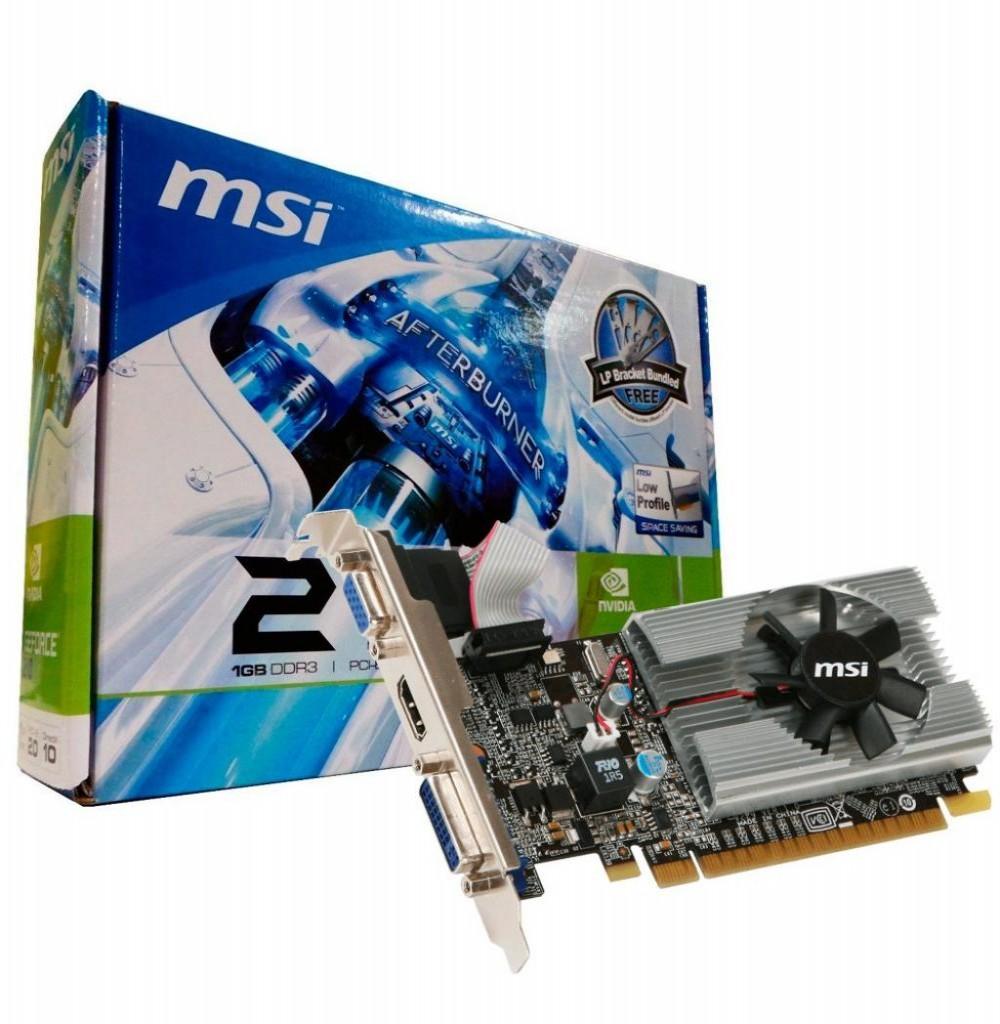 Placa de Vídeo 1GB EXP. GF-N210 MSI DDR3