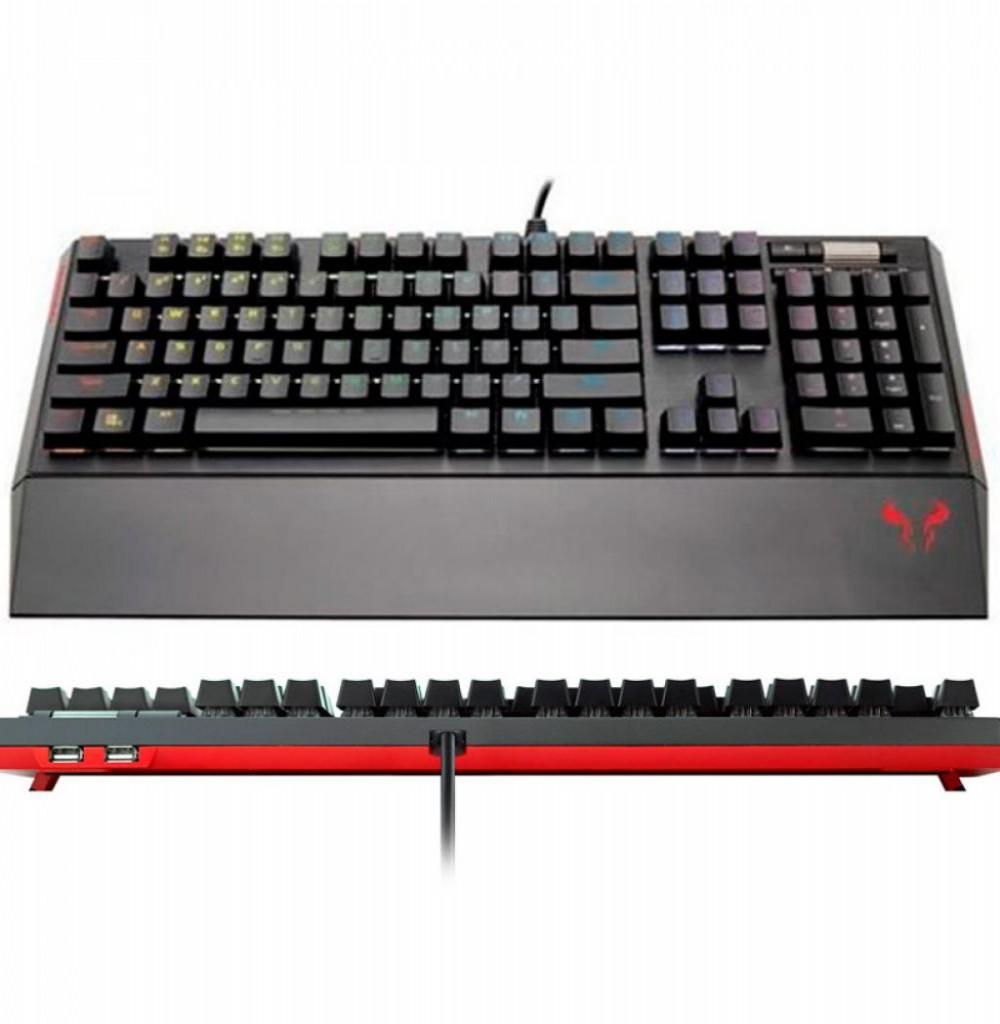 Teclado Riotoro KR700 Xpli Gamer/Gaming Cherry Prism - RGB Preto