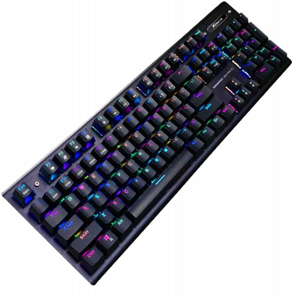 Teclado com Fio Gaming Xtrike Me GK-905 USB 2.0 Preto (Ingles)