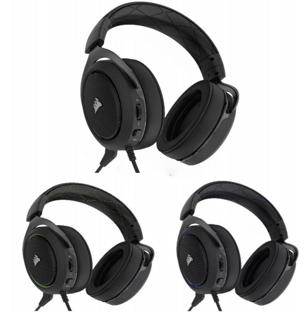 Headset Corsair para Jogos HS50 Stereo Gaming - Blue