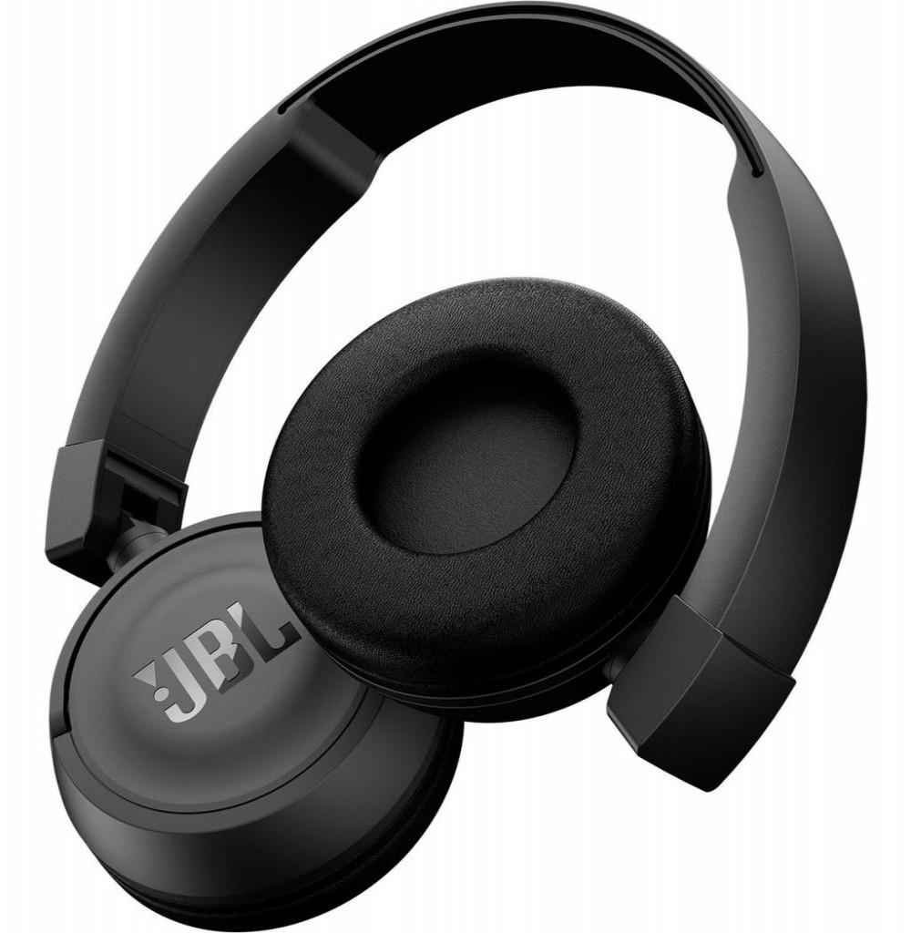 Fone de Ouvido Sem Fio JBL T450BT com Bluetooth/Microfone - Preto