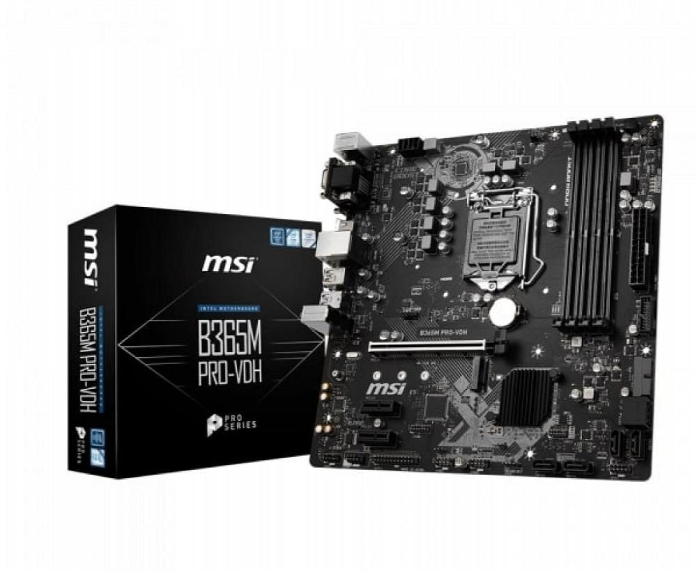 Placa-Mãe Intel (1151) MSI B365M Pro VHD