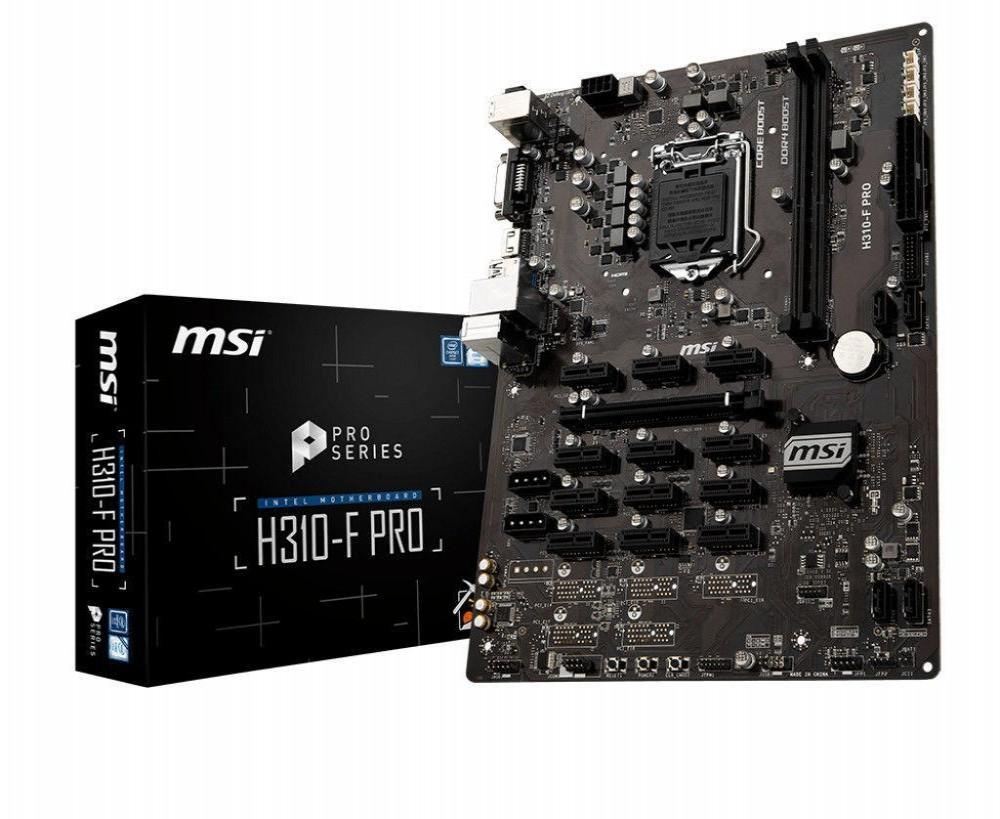 Placa-Mãe Intel (1151) MSI H310-F Pro