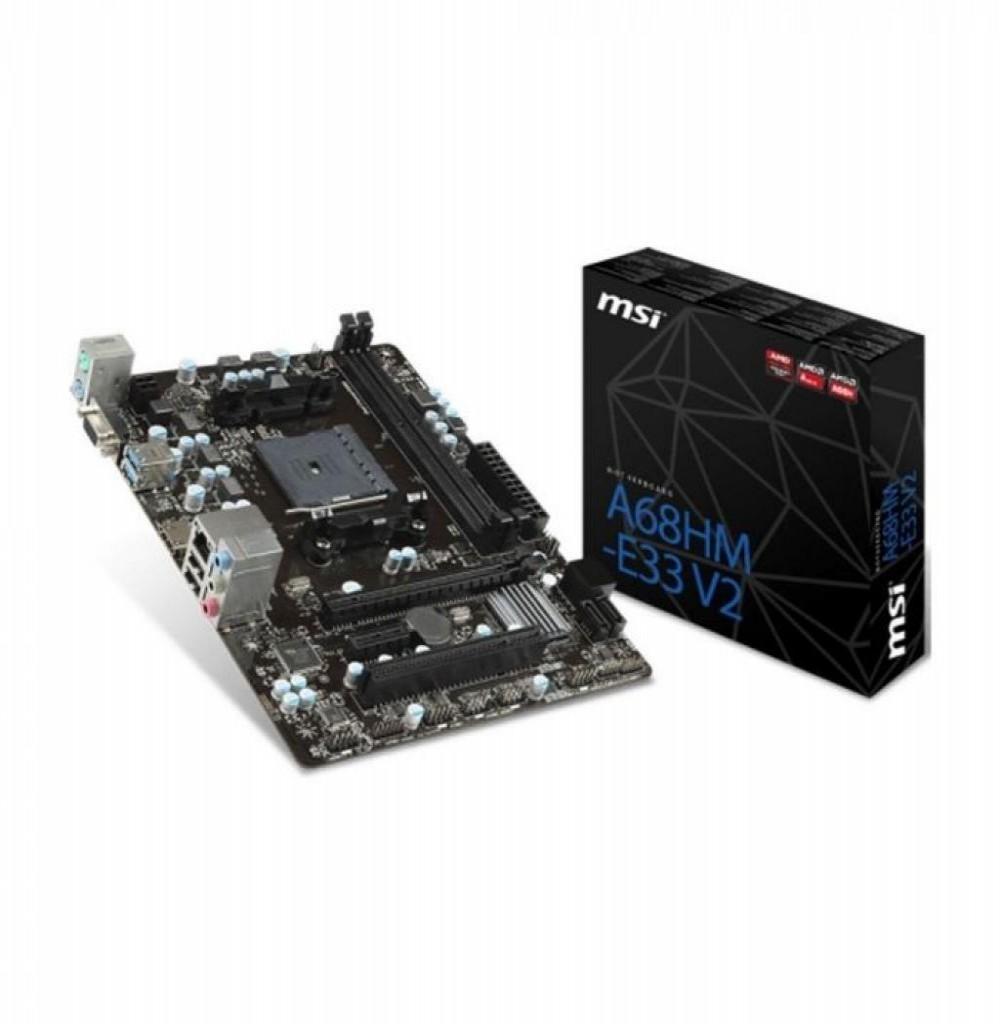 Placa-Mãe AMD (FM2) MSI A68HM-E33 V2