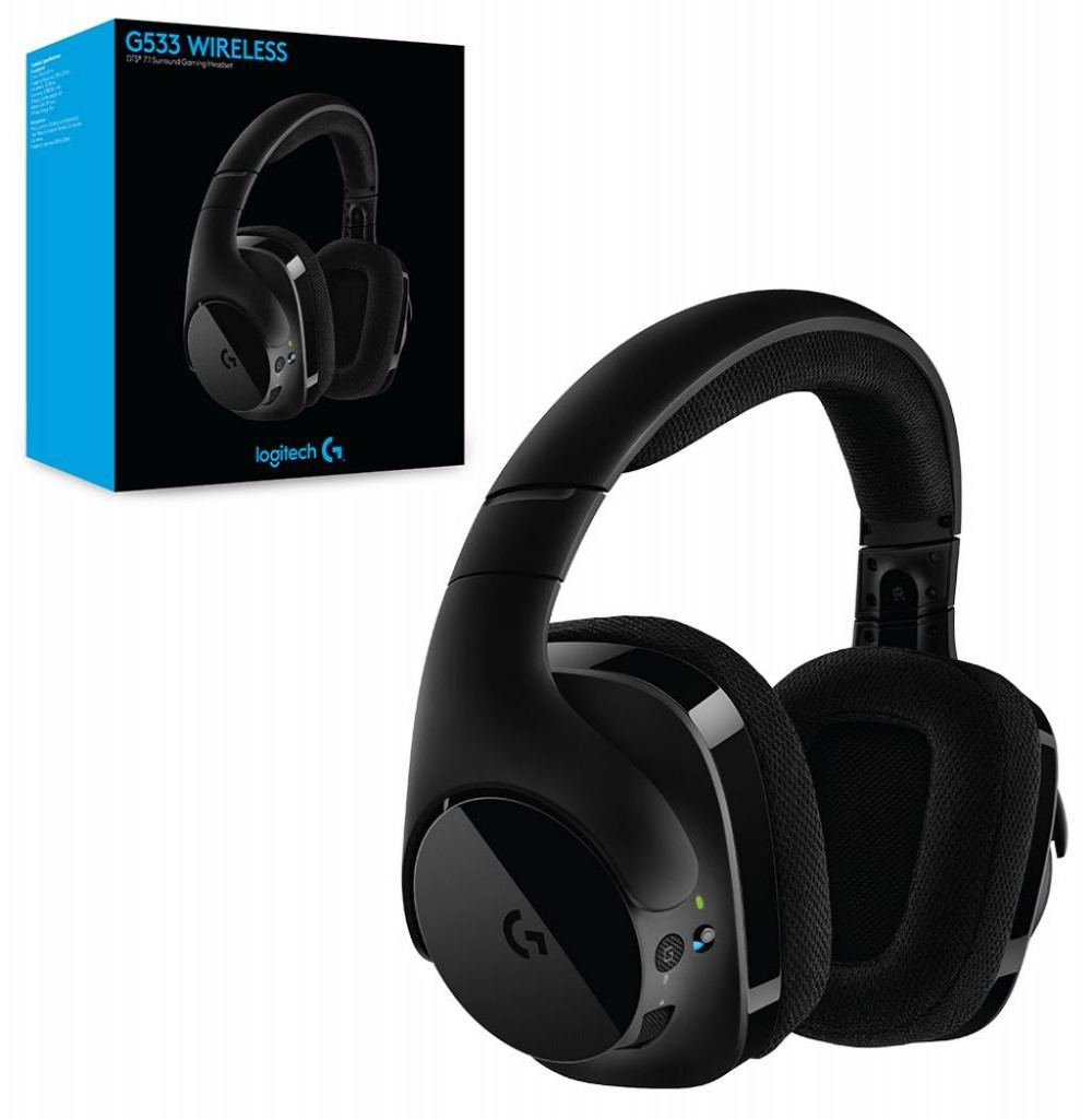 Headset Logitech G533 Gaming 7.1 Wireless