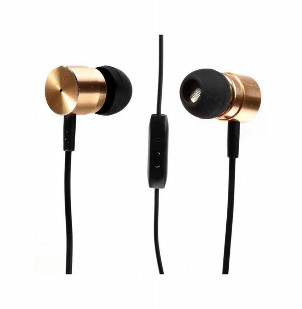Fone de Ouvido MOX MO-F706 com Microfone -Dourado
