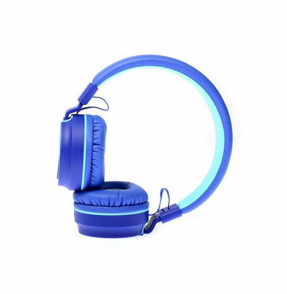 Fone de Ouvido Mox Sem Fio MO-F991 Bluetooth/USB - Azul