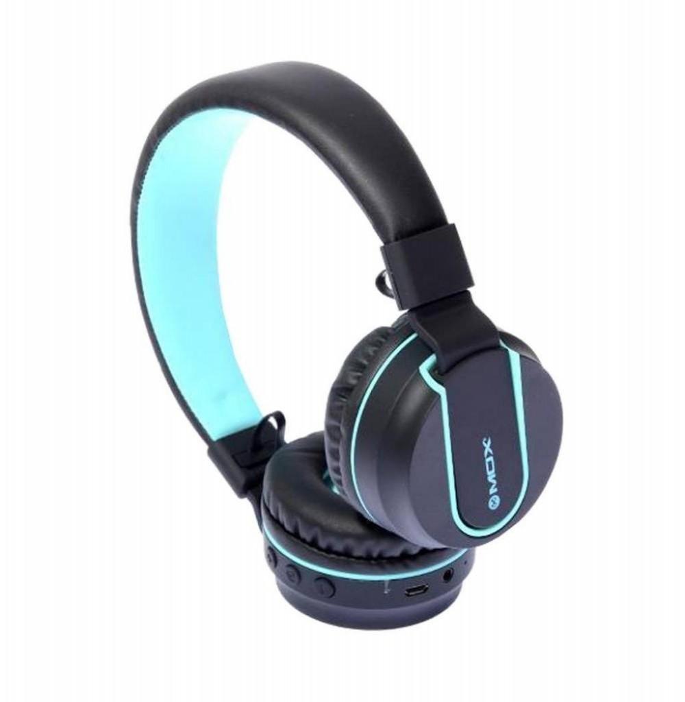 Fone de Ouvido Mox Sem Fio MO-F991 Bluetooth/USB - Cinza