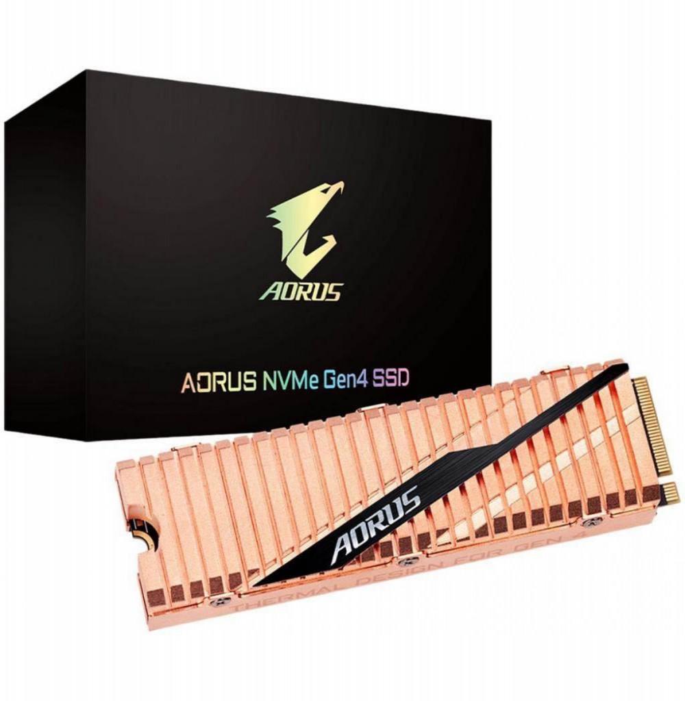 HD Gigabyte Aorus RGB NVME GEN4 SSD M.2 1TB