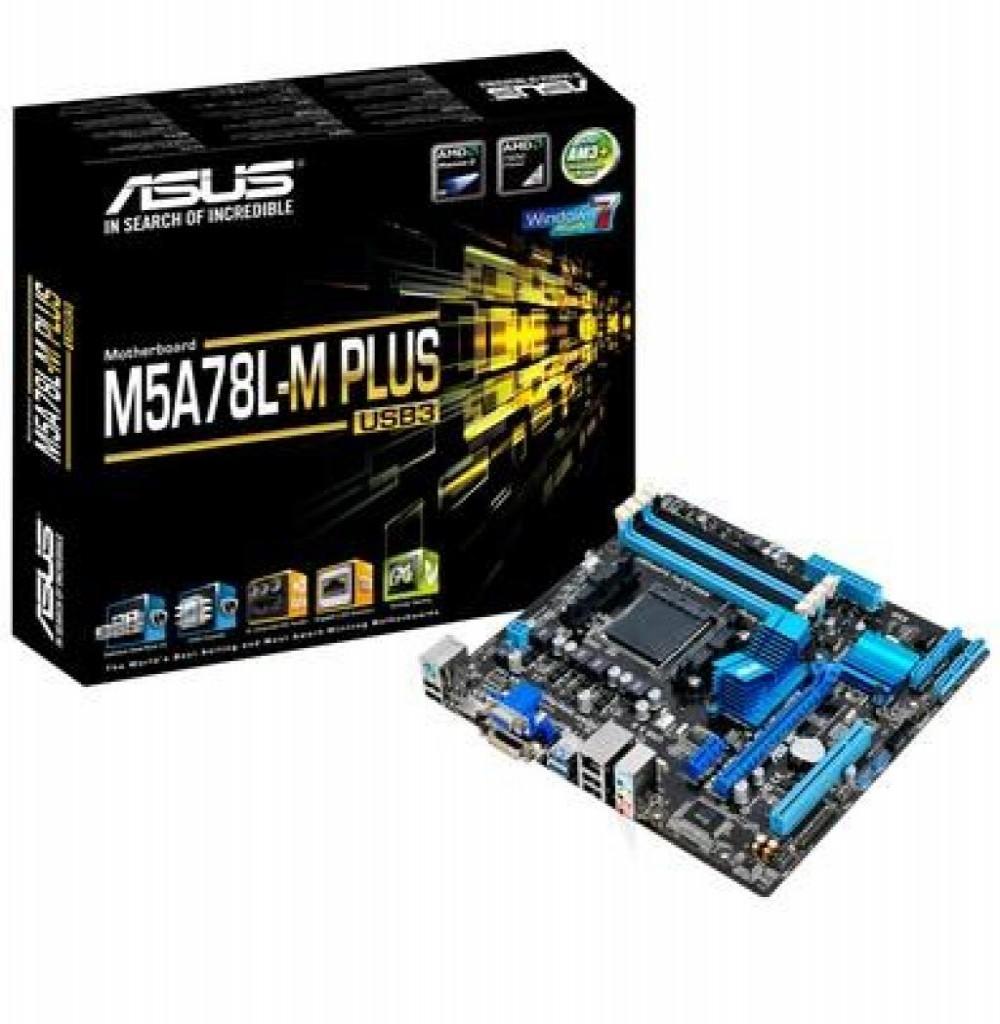 Placa Mãe AMD AM3/AM3+ Asus M5A78L-M Plus USB3