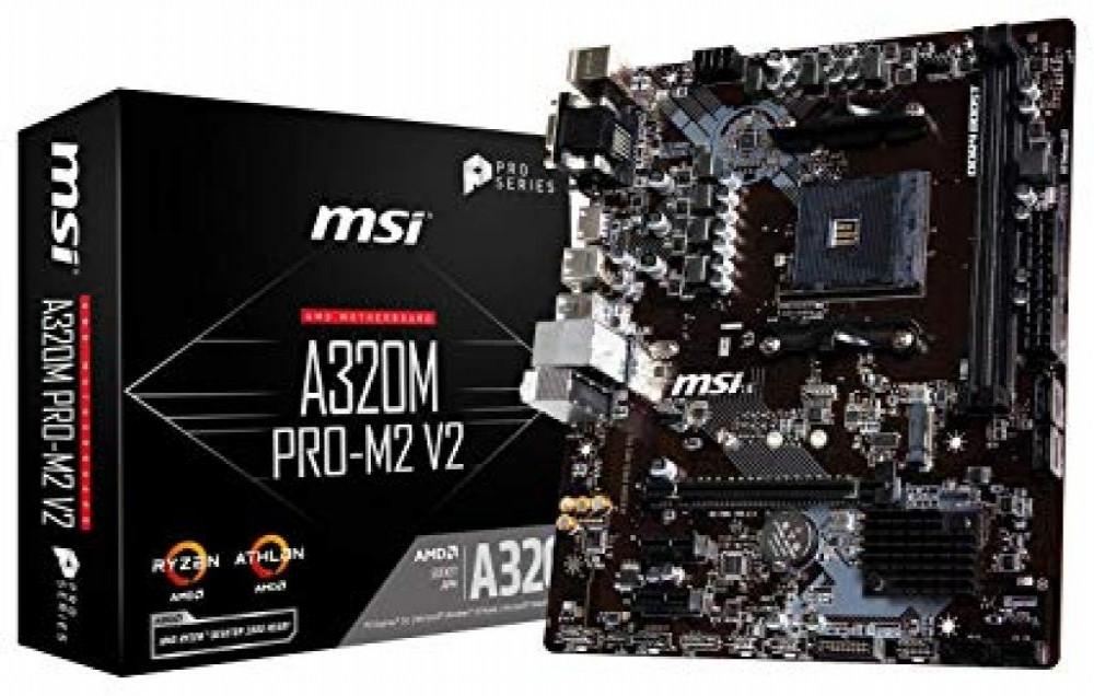 Placa-Mãe AMD (AM4) MSI A320M Pro M2 V2