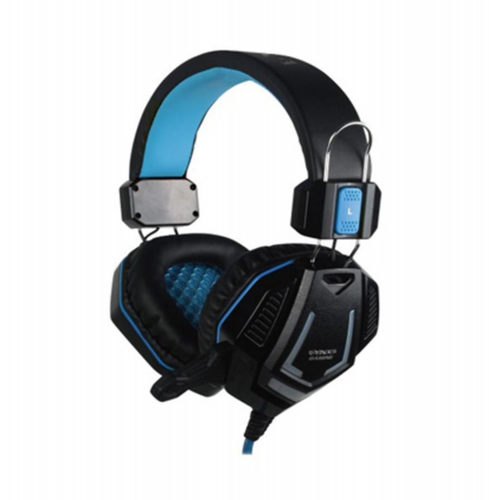 Headset Satellite AE-328 Gaming com Microfone - Azul