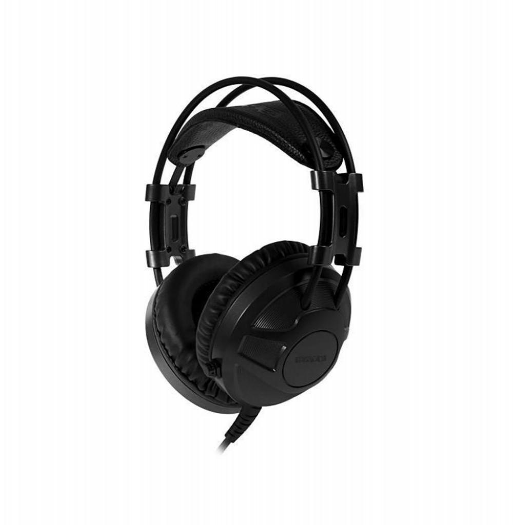 Headset Satellite AE-329 com Microfone Retrátil - Preto/Cinza