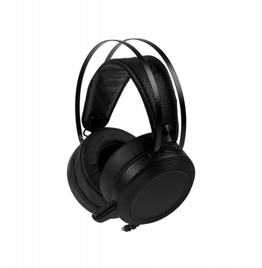 Headset Satellite AE-330 com Microfone Retrátil - Preto