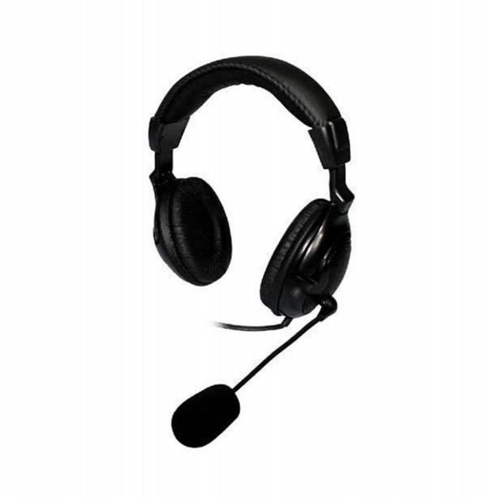 Headset Satellite AE-820 com Microfone Omnidirecional - Preto