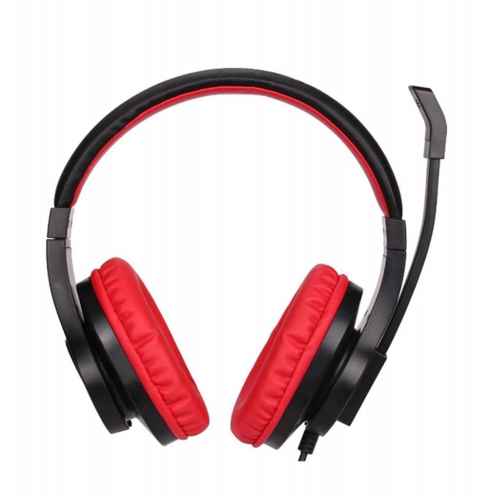 Fone com Microfone Gamer/Gaming Xtrike Me Stereo GH-503 - Preto/Vermelho