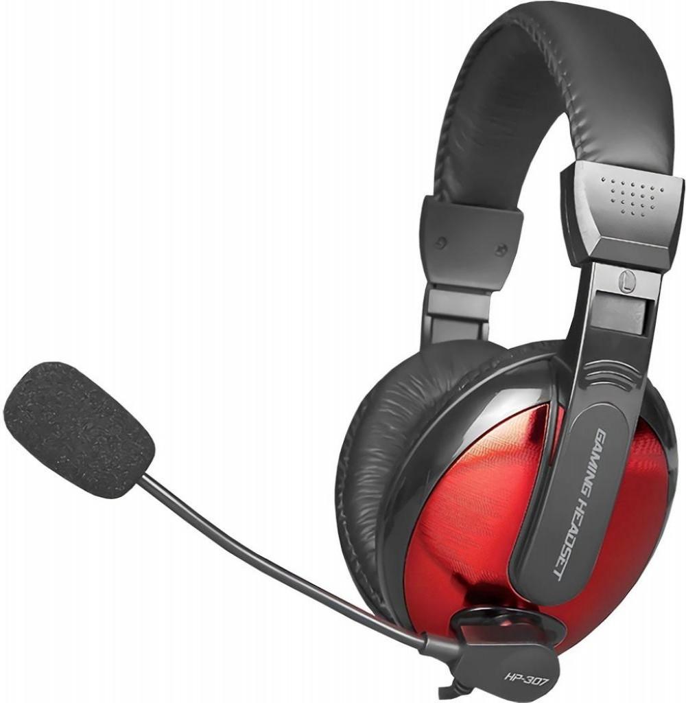 Headset para Jogos XTrike Me Stereo HP-307 Preto/Vermelho