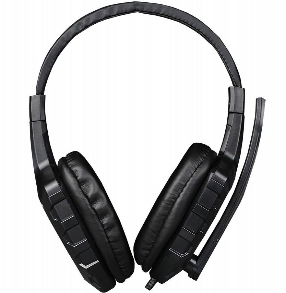 Headset para Jogos XTrike Me Stereo HP-308 Preto/Vermelho
