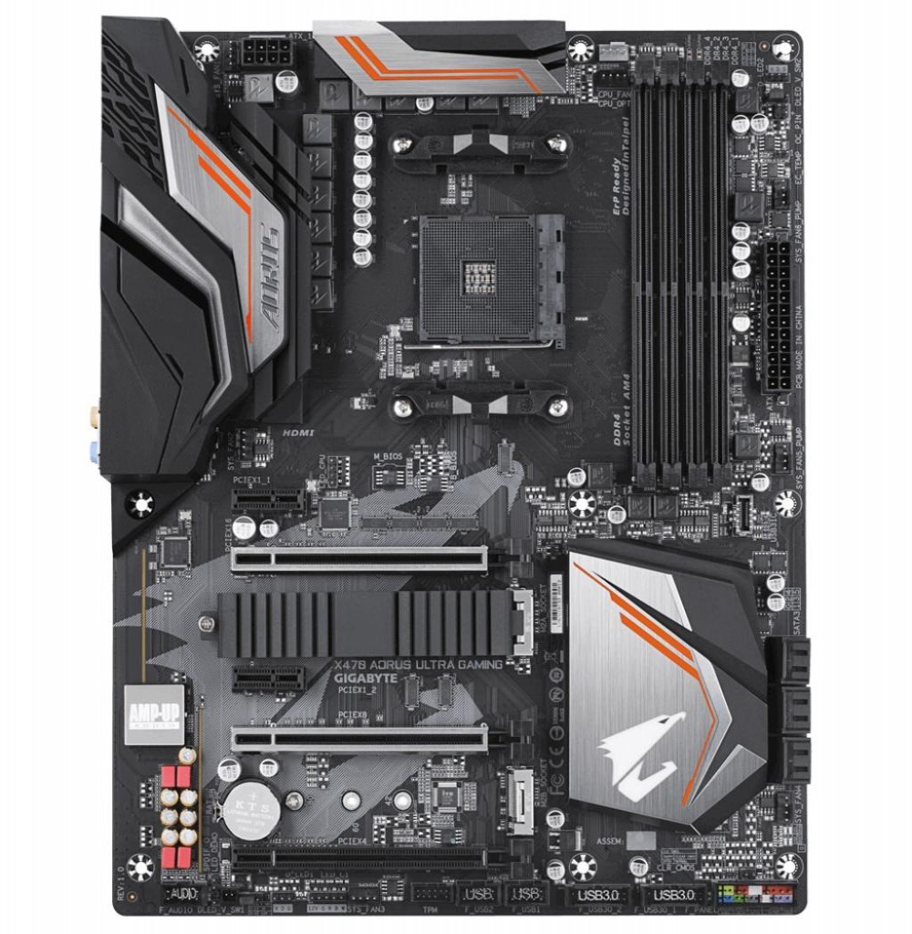 Placa Mãe Gigabyte X470 Aorus Ultra Gaming AMD Soquete AM4